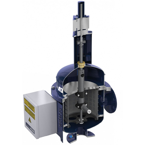 Автоматический сетчатый фильтр с гидравлическим приводом промывки AZUD LUXON ldb 1800